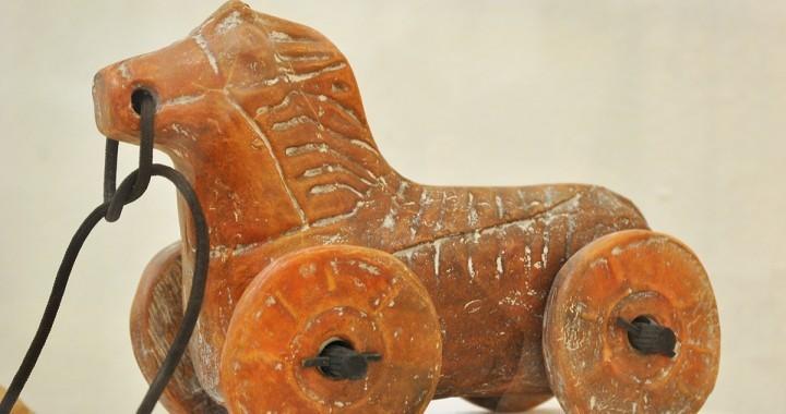 konjić na točkovima, II vek, Kostolac - Viminacijum, Narodni muzej Požarevac