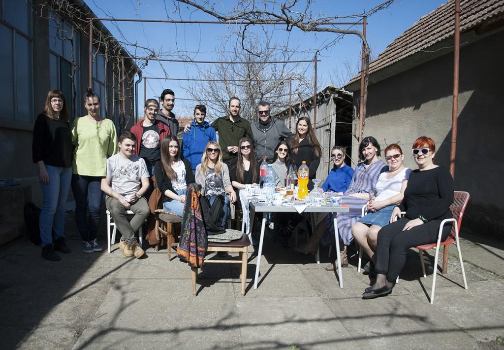 Na okupu, studenti Beogradske politehnike i tim projekta Secesija kao inspiracija