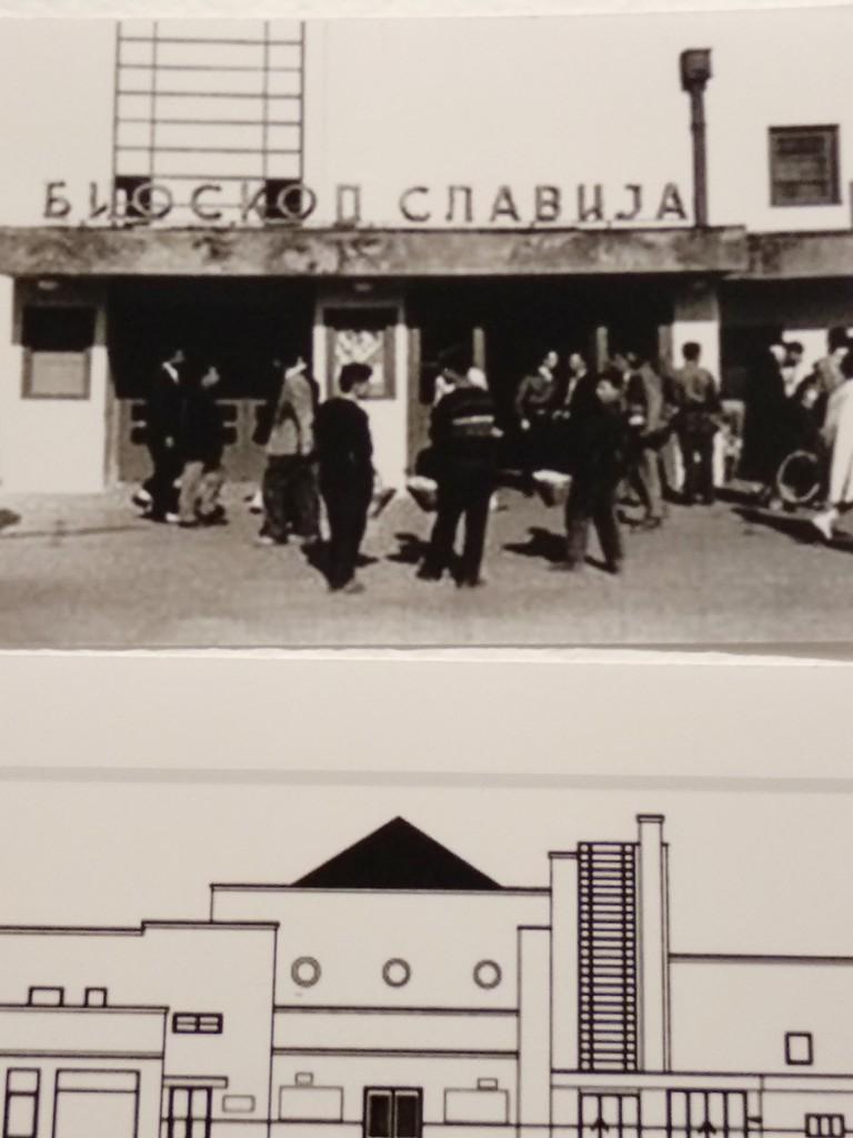 Kako je izgledala zgrada bioskopa Slavija nekadašnji Socijalistički narodni dom