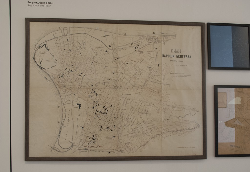 Plan varoši Beograda, izrađen u Kanalizacionom odseku 1903. godine