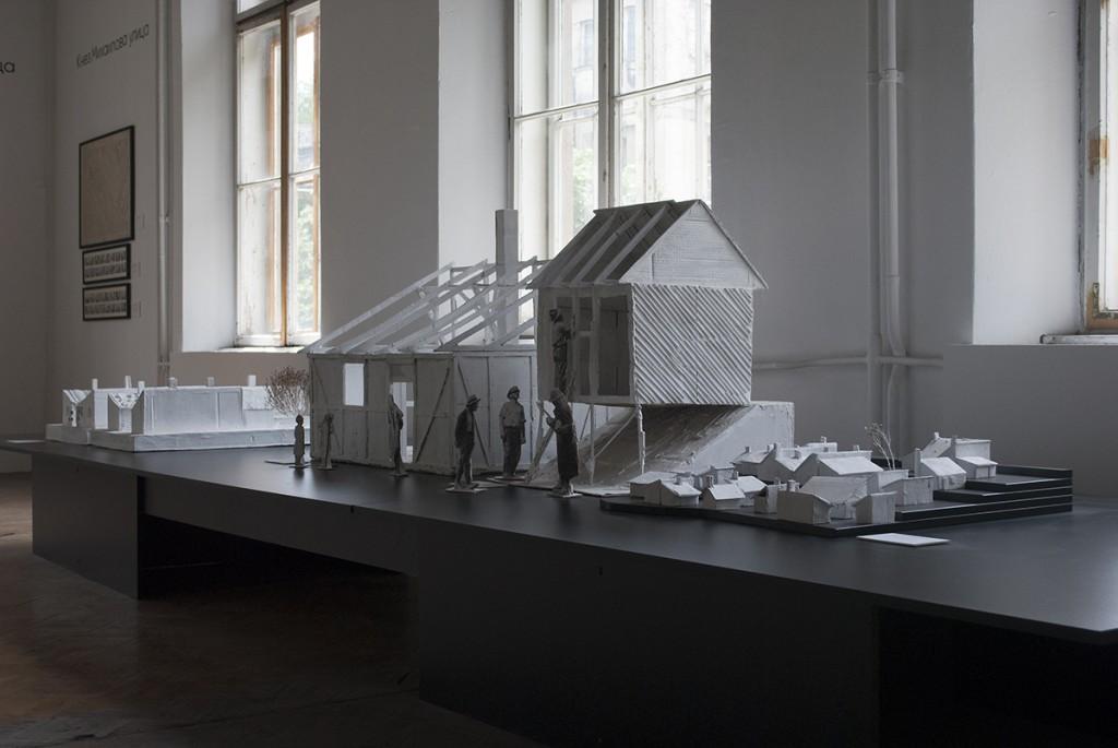 Makete sirotinjskih kuća za izdavanje, Vladimir Macura, 2015.