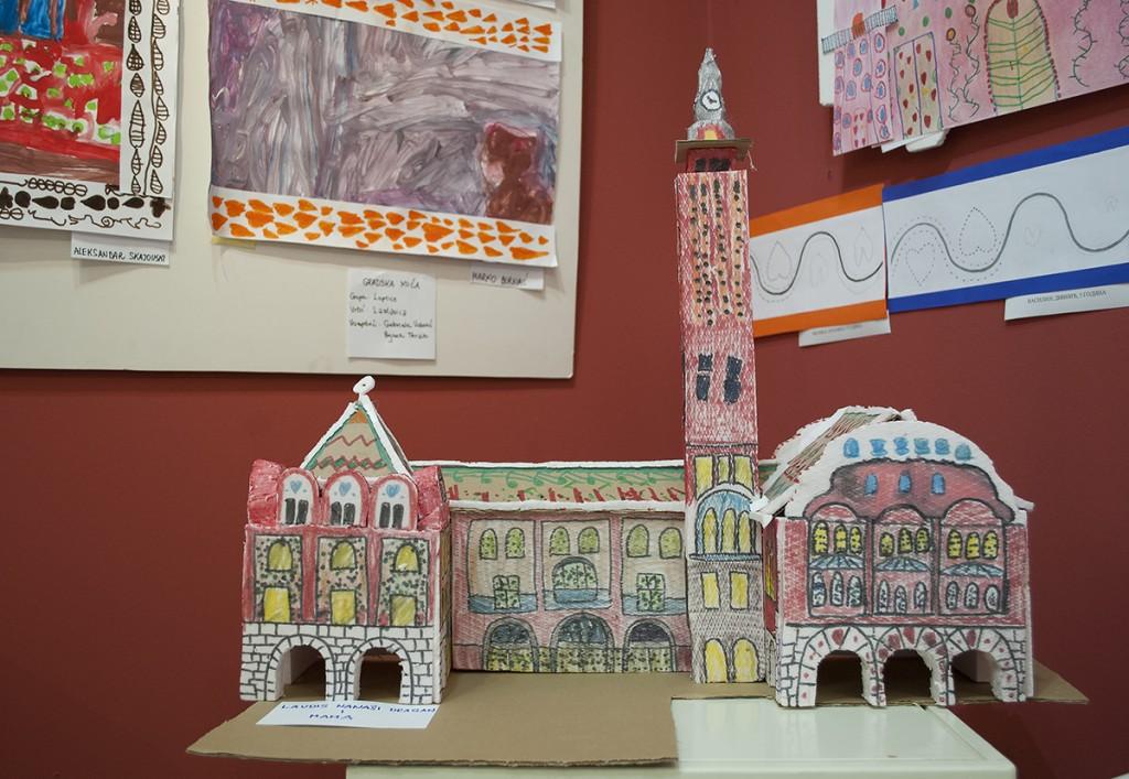 Gradska kuća u Subotici, grupni rad