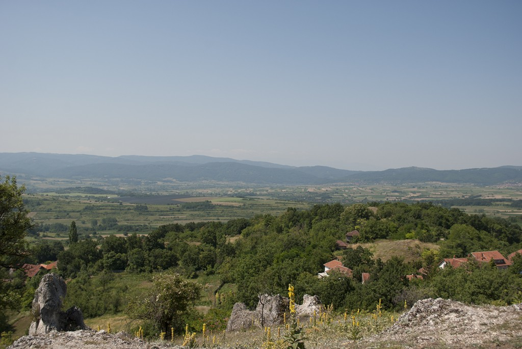 Pogled sa Latin grada