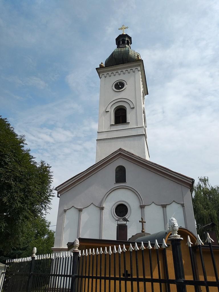 Pogled na crkvu Svetog Đorđa