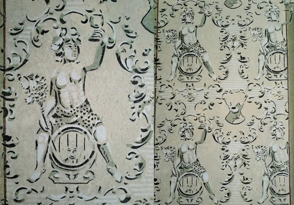 Filip Cvetić, pradeda Dragomira Cvetića Marininog supruga i Lidijinog oca, bio je poštovani kraljevački trgovac vinom. Vrednim radom i trudom porodice Cvetić uz pomoć stručnjaka iz Narodnog muzeja Kraljevo otkrivena je al seco dekoracija u predsoblju kuće sa predstavom boga Bahusa, zaštitnika vina i vinogradara