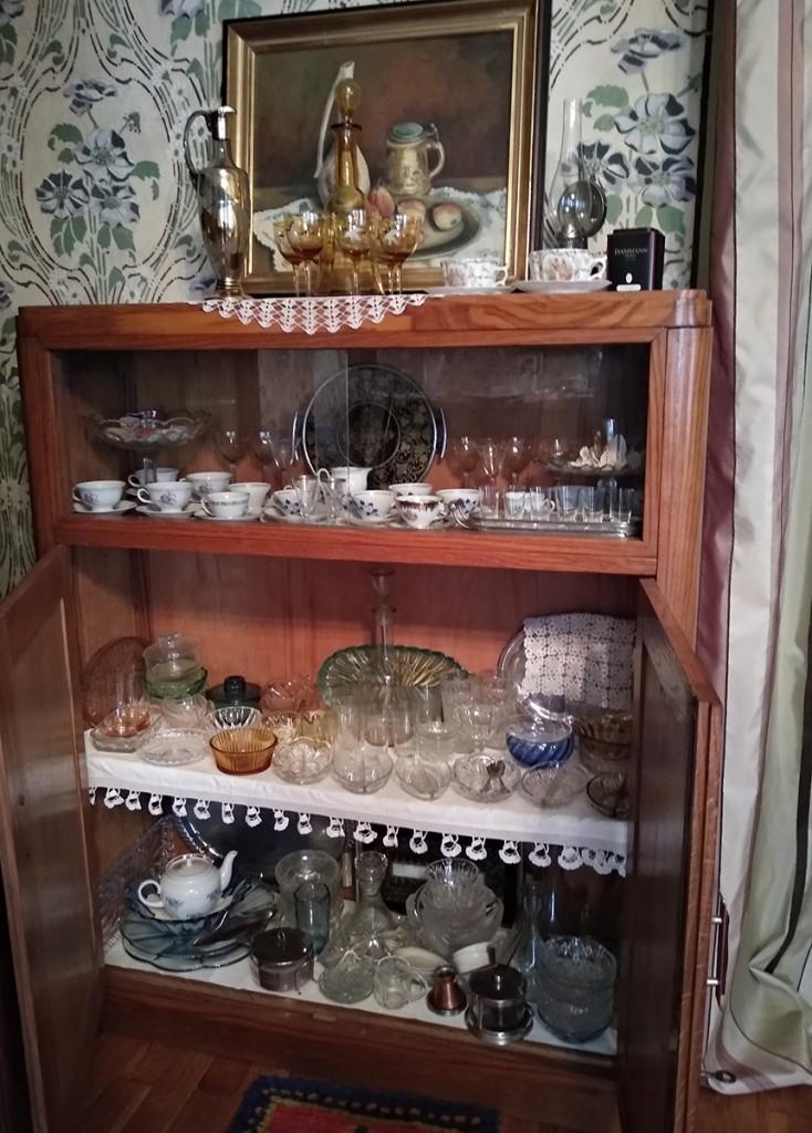 Delić muzjeske zbirke, šoljice, posude za posluživanje slatka, čaše...