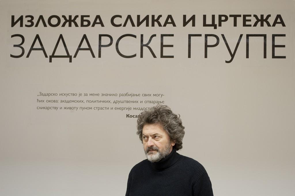 Gospodin Avakum Kvas, autor izložbe