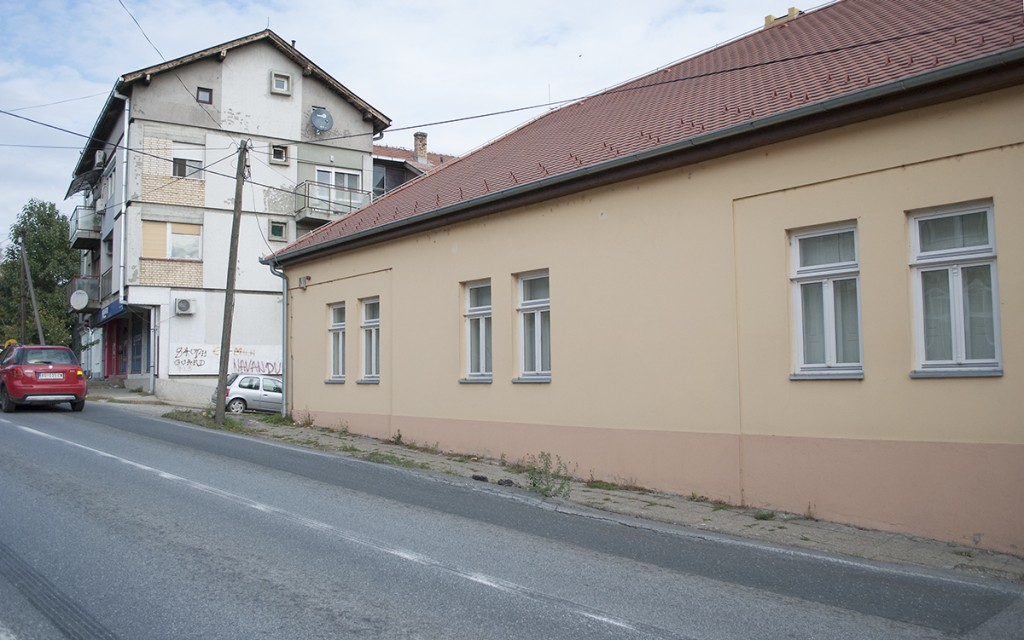 Obnovljena kuća Borislava Mihajlovića Mihiza, Irig