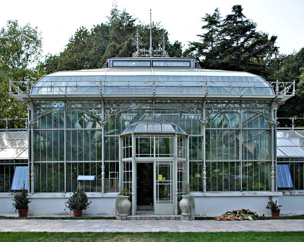 Staklenik u Botaničkoj bašti - Jevremovac u Beogradu. Fotografija M. Sikošek