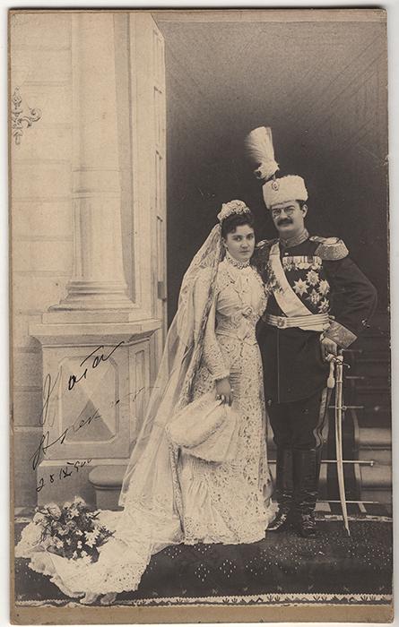 Venčana slika Drage i Aleksandra Obrenovića, fotografija vlasništvo Muzeja grada Beograda